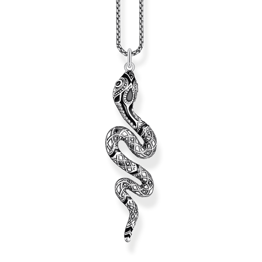 Necklace snake from the Rebel at heart collection in the THOMAS SABO online store