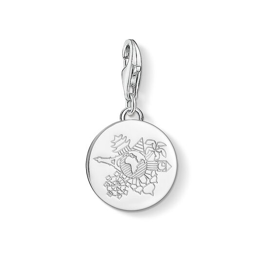Charm pendant wanderlust from the  collection in the THOMAS SABO online store