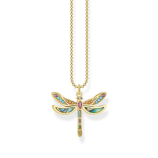 necklace dragonfly gold from the  collection in the THOMAS SABO online store