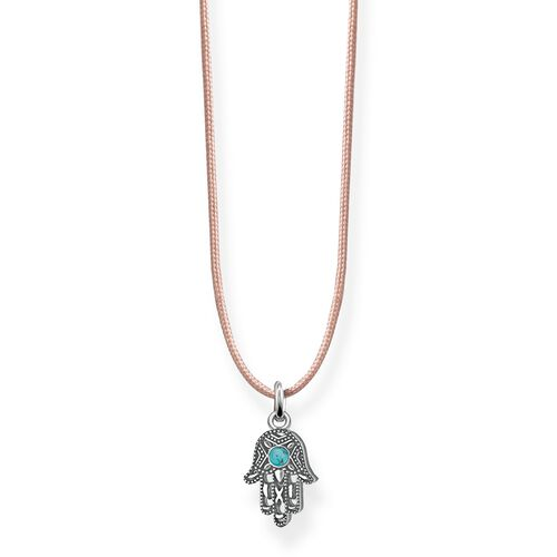 """Choker """"Ethnic Hand of Fatima """" from the Glam & Soul collection in the THOMAS SABO online store"""