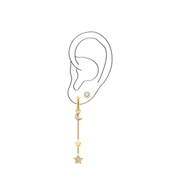 Charm Club Ear Party Look 16 from the  collection in the THOMAS SABO online store