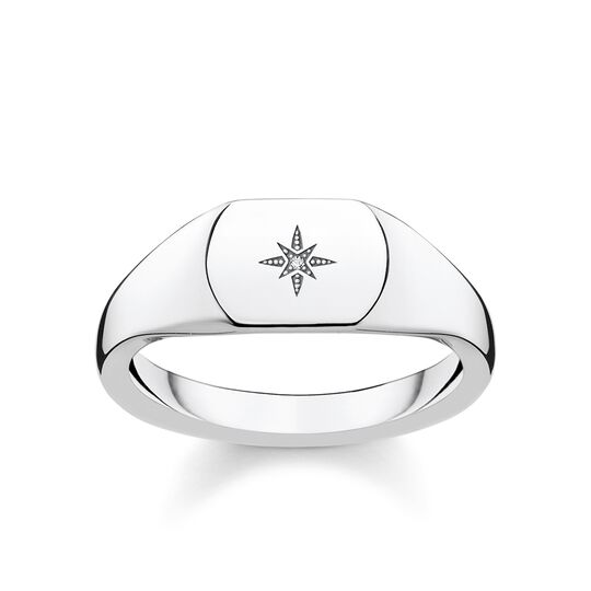 ring vintage star silver from the Glam & Soul collection in the THOMAS SABO online store