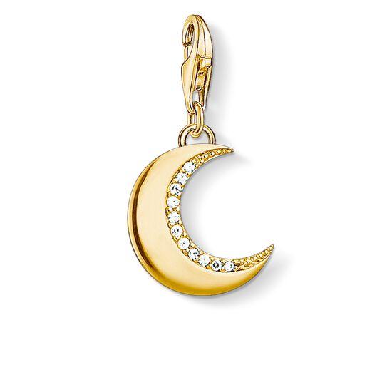"""pendentif Charm """"lune or"""" de la collection Glam & Soul dans la boutique en ligne de THOMAS SABO"""