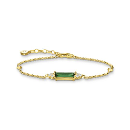 Bracelet green stone gold from the  collection in the THOMAS SABO online store
