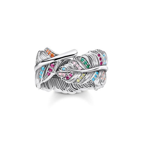 Ring feather silver from the  collection in the THOMAS SABO online store