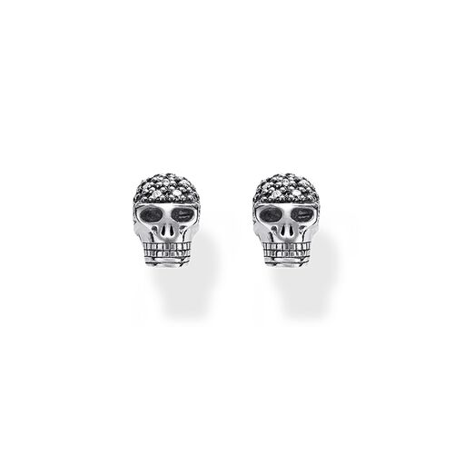 "ear studs ""skull"" from the Rebel at heart collection in the THOMAS SABO online store"