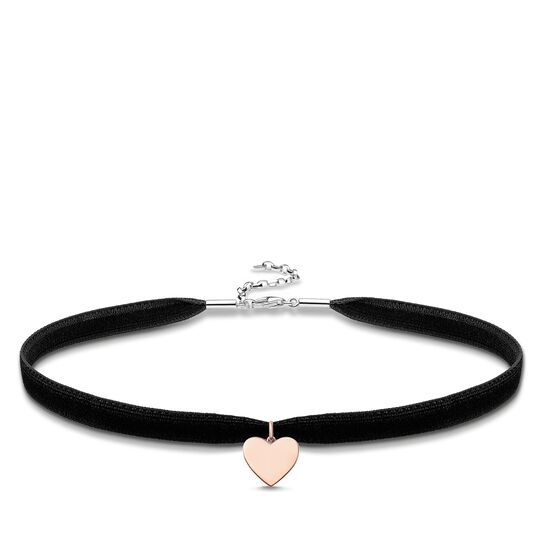 """Choker """"heart"""" from the Glam & Soul collection in the THOMAS SABO online store"""