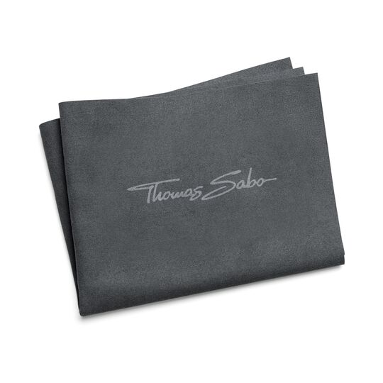 Jewellery cleaningcloth 30x24cm grey mf. from the  collection in the THOMAS SABO online store