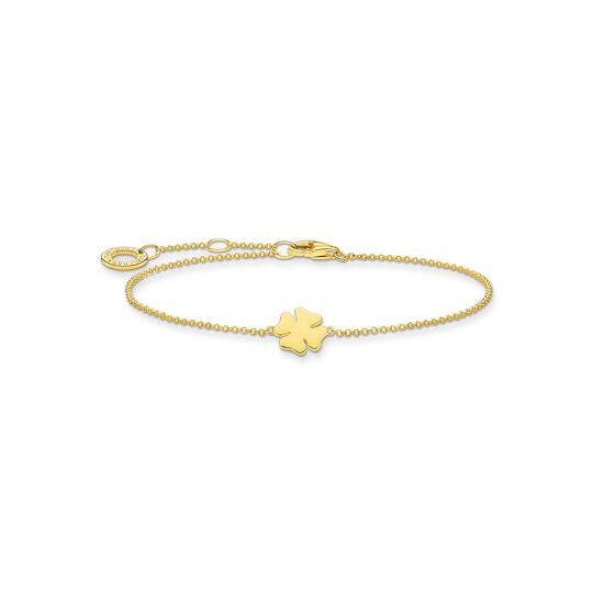Bracelet cloverleaf gold from the Charming Collection collection in the THOMAS SABO online store