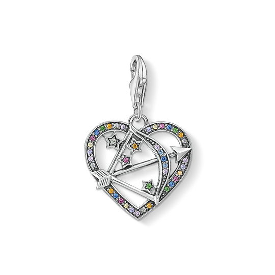 Charm pendant Cupid's Arrow, silver from the Charm Club collection in the THOMAS SABO online store