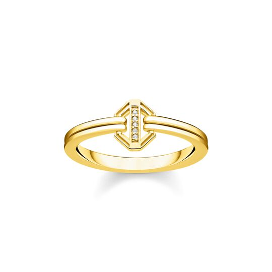 ring vintage gold from the  collection in the THOMAS SABO online store