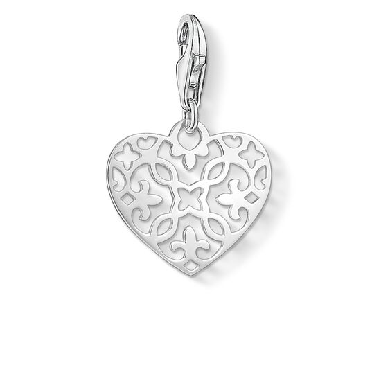 """Charm pendant """"ornament heart"""" from the Glam & Soul collection in the THOMAS SABO online store"""
