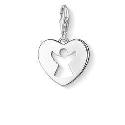 Charm pendant guardian angel heart from the Charm Club Collection collection in the THOMAS SABO online store