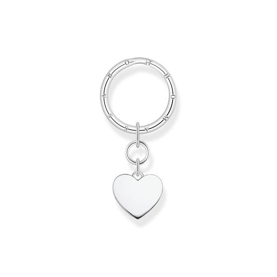 Key ring heart silver from the  collection in the THOMAS SABO online store