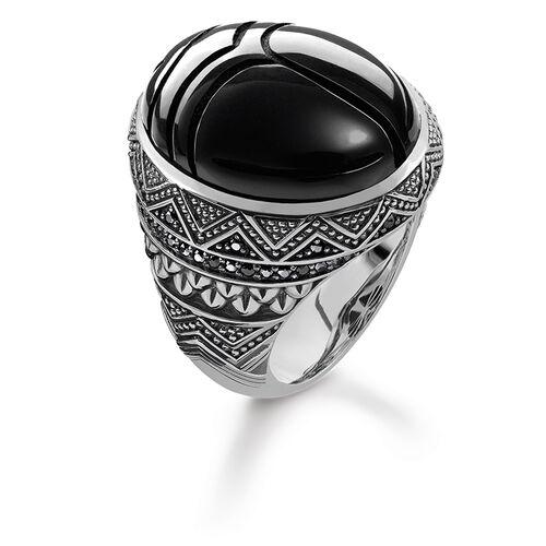 """bague """"scarabée noir"""" de la collection Rebel at heart dans la boutique en ligne de THOMAS SABO"""