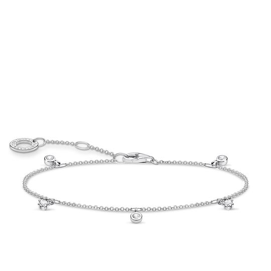Bracelet white stones, silver from the Charming Collection collection in the THOMAS SABO online store