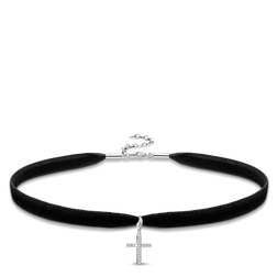 """Choker """"cross"""" from the Glam & Soul collection in the THOMAS SABO online store"""