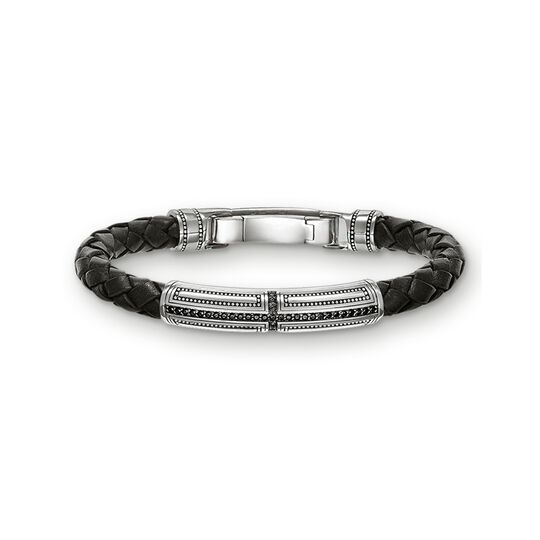 leather bracelet cross from the  collection in the THOMAS SABO online store