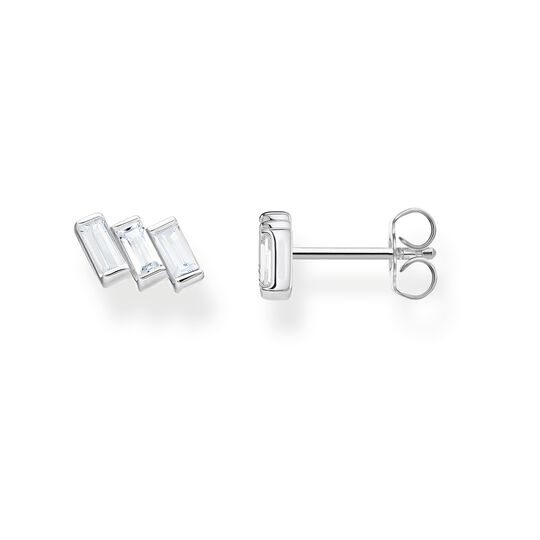 ear studs Angular stones with baguette cut from the Glam & Soul collection in the THOMAS SABO online store