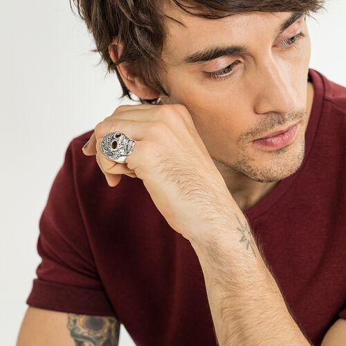 """anillo """"Calavera maorí"""" de la colección Rebel at heart en la tienda online de THOMAS SABO"""
