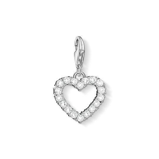 Charm pendant Romantic heart from the Charm Club collection in the THOMAS SABO online store