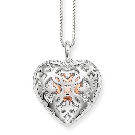 Jewelry for Christmas: Heart Chains and Heart Medallions