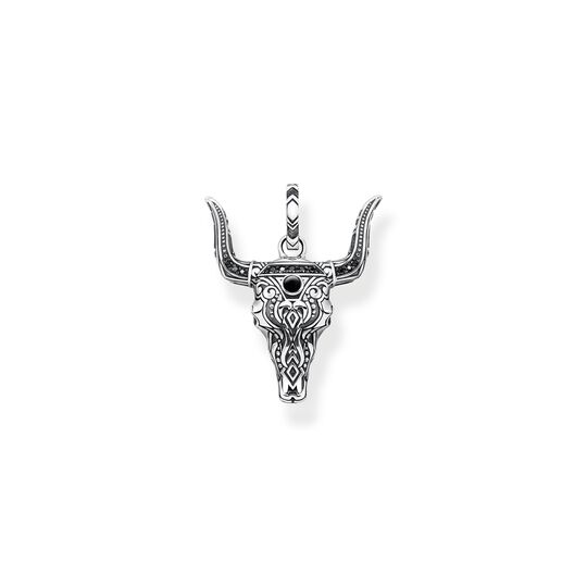 Pendant bull's head from the  collection in the THOMAS SABO online store
