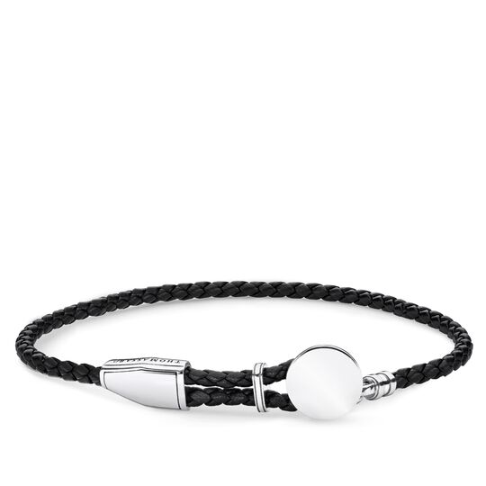Lederarmband Coin aus der Rebel at heart Kollektion im Online Shop von THOMAS SABO