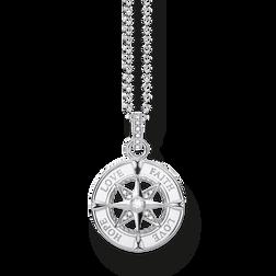 cadena brújula fe, amor, esperanza de la colección Glam & Soul en la tienda online de THOMAS SABO