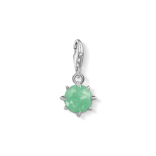 Charm pendant birth stone May from the Charm Club collection in the THOMAS SABO online store