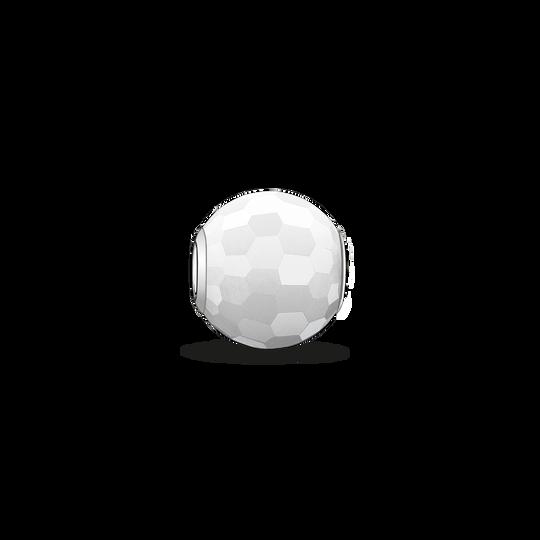 Bead jade blanc de la collection Karma Beads dans la boutique en ligne de THOMAS SABO