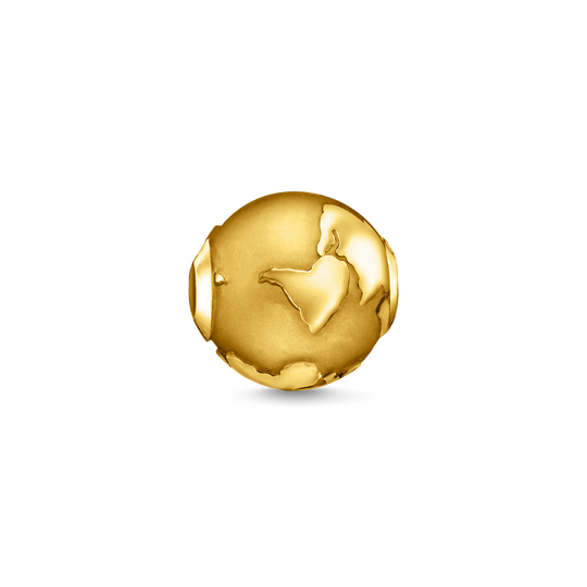 bead globe gold from the Karma Beads collection in the THOMAS SABO online store