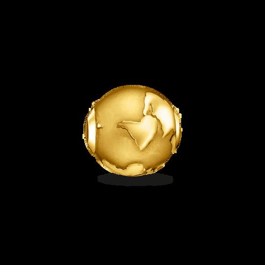 Bead Weltkugel gold aus der Karma Beads Kollektion im Online Shop von THOMAS SABO