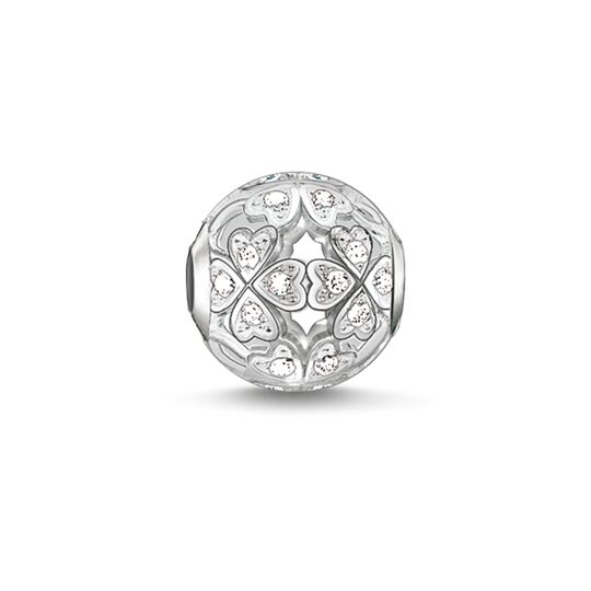 Bead cloverleaf from the Karma Beads collection in the THOMAS SABO online store