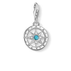 Charm pendant compass from the Charm Club Collection collection in the THOMAS SABO online store