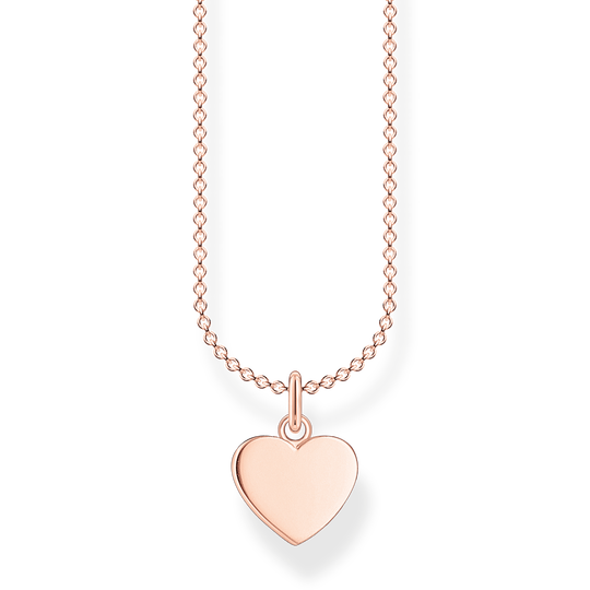 Chaîne cœur or rose de la collection Charming Collection dans la boutique en ligne de THOMAS SABO
