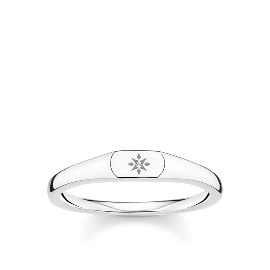Ring star silver from the Charming Collection collection in the THOMAS SABO online store