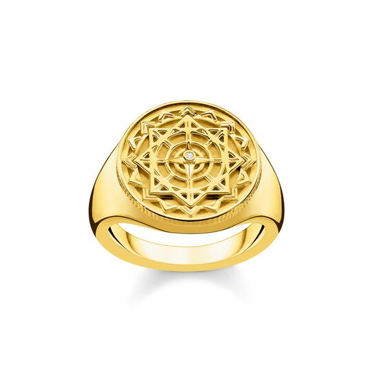 ring vintage compass gold from the  collection in the THOMAS SABO online store