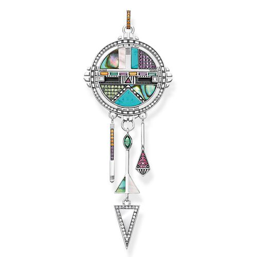 """pendant """"dreamcatcher sun symbol"""" from the Glam & Soul collection in the THOMAS SABO online store"""