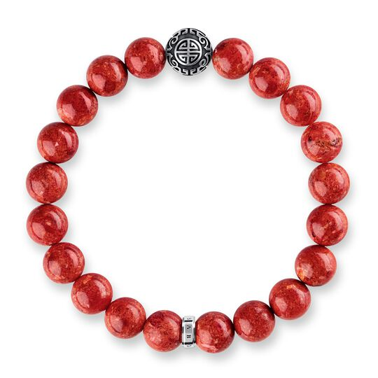 "bracciale ""Etnico rosso"" from the Glam & Soul collection in the THOMAS SABO online store"