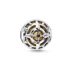 Bead bussola oro from the Karma Beads collection in the THOMAS SABO online store