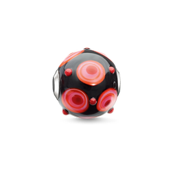 Bead rouge, noir, rose, orange de la collection Karma Beads dans la boutique en ligne de THOMAS SABO