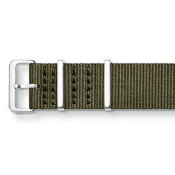 Correa textil NATO, caqui de la colección  en la tienda online de THOMAS SABO