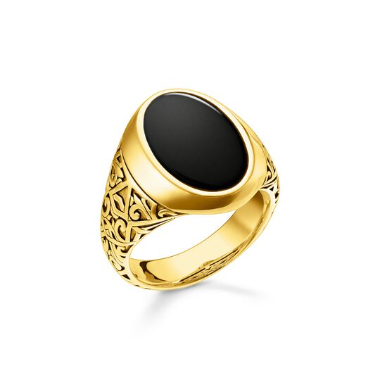Ring black-gold from the  collection in the THOMAS SABO online store