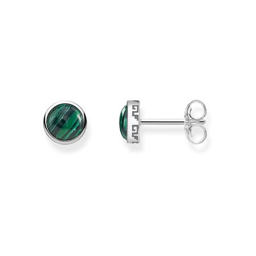 "ear studs ""green"" from the Glam & Soul collection in the THOMAS SABO online store"