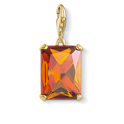 charm pendant large orange stone from the Charm Club Collection collection in the THOMAS SABO online store