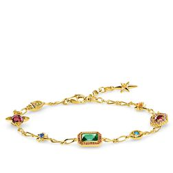 Armband Glücksbringer gold aus der Glam & Soul Kollektion im Online Shop von THOMAS SABO