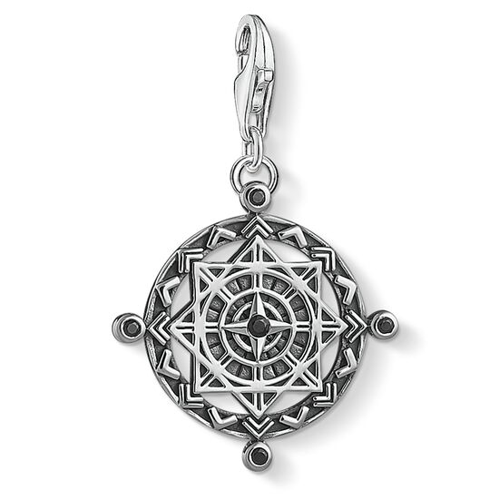 """Charm pendant """"disc Vintage compass"""" from the  collection in the THOMAS SABO online store"""