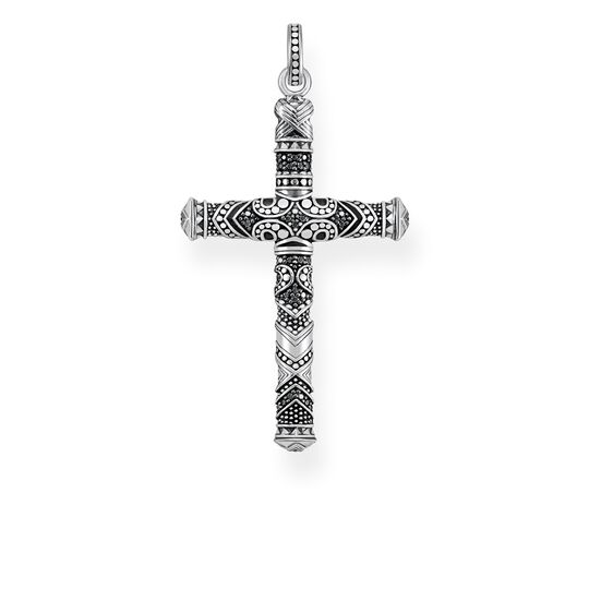 "ciondolo ""Croce maori piccola"" from the Rebel at heart collection in the THOMAS SABO online store"
