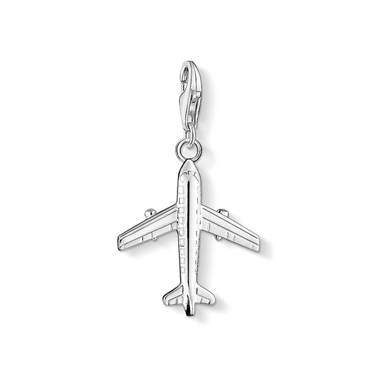Charm pendant aeroplane from the Charm Club collection in the THOMAS SABO online store
